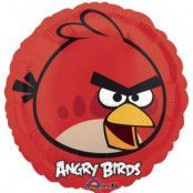Folieballong - Angry Birds Red 45 cm