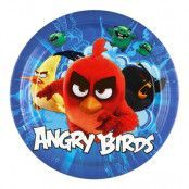 Papperstallrikar Angry Birds Movie - 8-pack