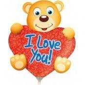 Ballong med pinne - I love you