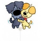 Ballong med pinne - Kramande hundar