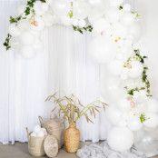 Ballongbåge Vit