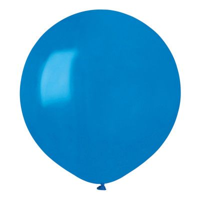 Ballonger Blå Runda Stora - 10-pack