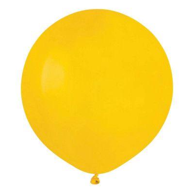 Ballonger Gula Runda Stora - 10-pack