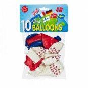 Ballonger Norska Flaggan