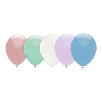 Ballonger Pastell Flerfärgade - 10-pack