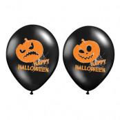 Ballonger Pumpor Halloween Pastell - 6-pack