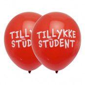 Ballonger Tillykke Student - 10-pack