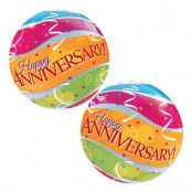 Bubbelballong Happy Anniversary