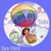 Dora utforskaren genomskinlig ballong - 66 cm