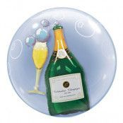 Dubbelballong Champagne