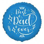 Folieballong Best Dad Ever