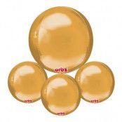 Folieballong Orbz Guld