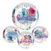 Folieballong Orbz Shimmer & Shine