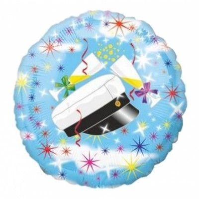 Folieballong Studentmotiv