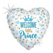Folieballong Welcome Little Prince