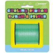 Grönt krusande ballongsnöre - 91m