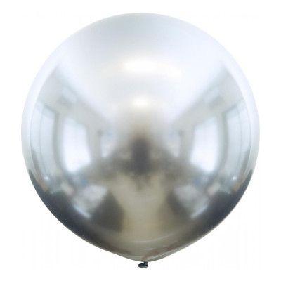 Latexballonger Stora Krom Silver - 10-pack