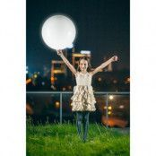 LED-Ballong Rund Vit 55 cm