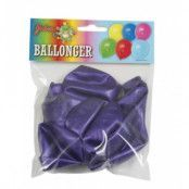 Lilametallic ballonger - 8pack