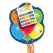 Pinata med dragsnören - ballonger