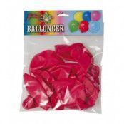 Röda ballonger 10-pack