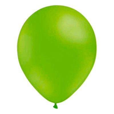 Stora Ballonger Limegröna - 10-pack