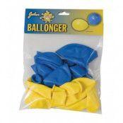 Sverige ballonger 10-pack