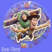Toy story genomskinlig ballong - 66 cm