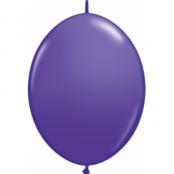 Violeta länkbara ballonger - 30 cm latex - 50 st