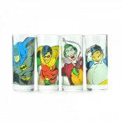 Batman Glas 4-pack