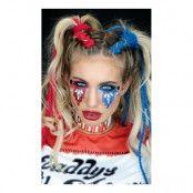 Harley Quinn Ansiktssmycke