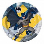 Papperstallrikar Batman - 8-pack