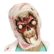 Blodig Döskalle Mask - One size