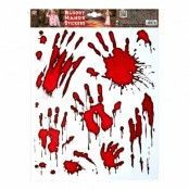 Blodiga Händer Stickers