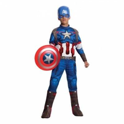 Avengers Captain America Barn Maskeraddräkt