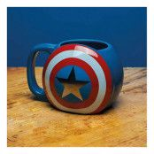 Captain America Sköld Mugg
