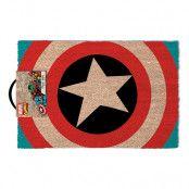 Dörrmatta Captain America Logo