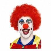 Clownperuk Röd - One size