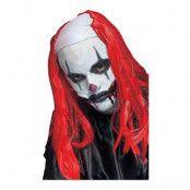 Läskig Clown Peruk - Blå