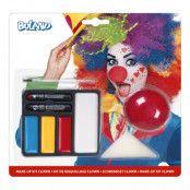 Sminkset Clown