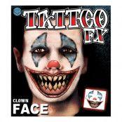 Tattoo FX Clown