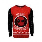 Deadpool Jultröja Merry Chimichanga, LARGE