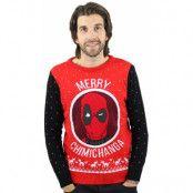 Deadpool Jultröja Merry Chimichanga, XS