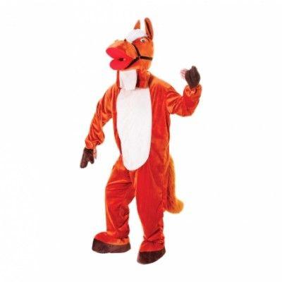 Häst med Stort Huvud Maskeraddräkt - Halloweenbutiken 5b3fc27c3fa7a
