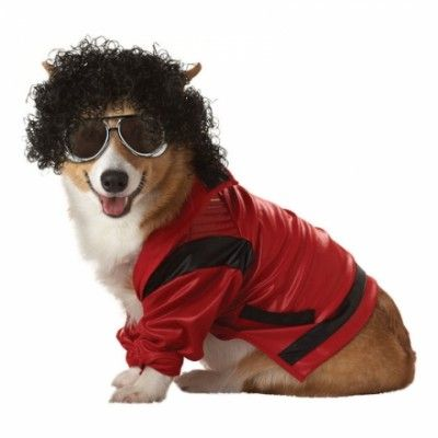 Michael Jackson Hund Maskeraddräkt