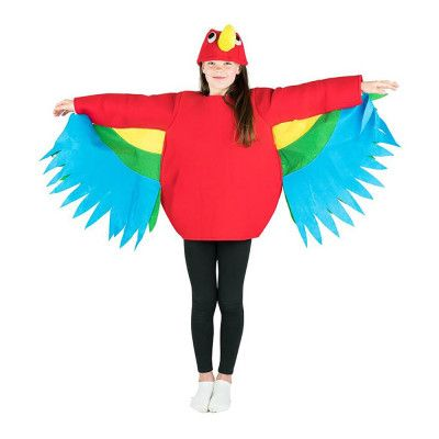 Papegoja Barn Maskeraddräkt - One size