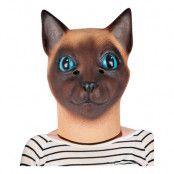 Siames Katt Mask - One size