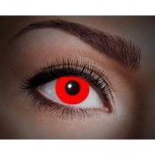 Färgade linser UV Flash Red