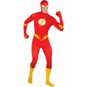 THE FLASH 2ND SKIN SUIT       , LARGE