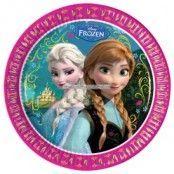 Disney Frost papperstallrikar 23cm - 8 st